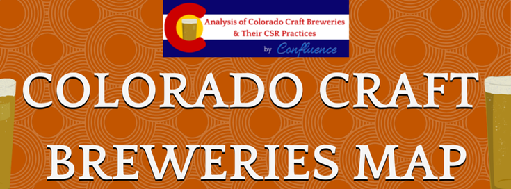 Colorado Craft Breweries Map