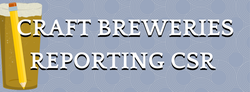 Craft Breweries Reporting CSR